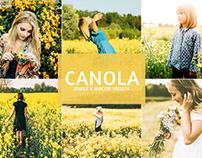 Free Canola Mobile & Desktop Lightroom Presets Cover