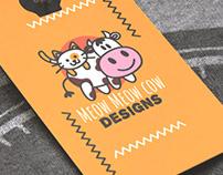 Meow Meow Cow - Brand Identity