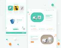 MUG Product landing page