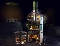 Tullamore D.E.W. — Triple Blend — Idea, 3D Key Visual