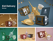 Eid Delivery Mockup