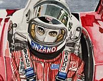 Carlos Reutemann/ Ferrari/ 1978