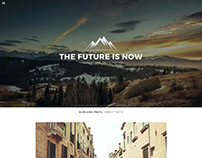 Minimal Personal WordPress Blog Theme