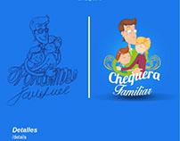 Souvenir Chequera Familiar - Caja de Estrategias.