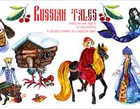 Russian tales illustration