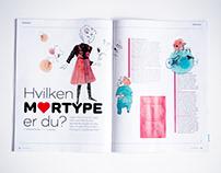 Magazine Our Children / Vores Børn. Egmont Publishing