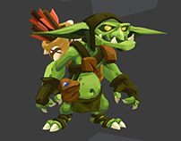 "Characterdesign ""Greenskins"""