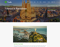 Blog Center - Traveler WordPress Theme by Visualmodo