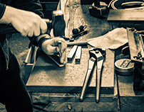 A craftsman and his tools