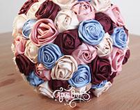 Alice in Wonderland Bridal Bouquet