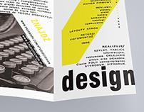brochure - graphic designer