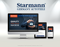 Strona WWW dla starmann-germany.de