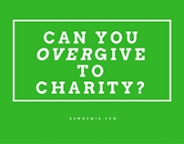 "Kewho Min Asks: ""Can You Over-Give to Charity?"""