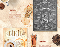 KVIKIT Coffee posters