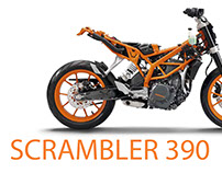 Scrambler 390 (Thesis Project)