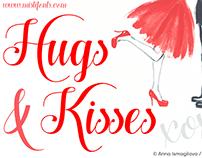 FREE Hugs & Kisses Font
