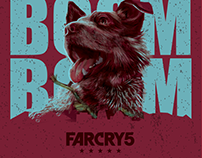 FARCRY 5 Official Game Poster-Vector