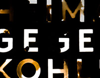 Title Design – Heimat Gegen Kohle
