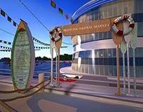 Amwaj Floating Global Market