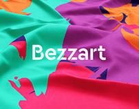 Bezzart brand design