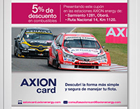 Axion energy + Mobil Promo Activation. POP material.