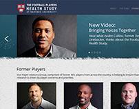 Harvard Football Players Health Study Video Webpage
