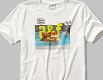 Fun Boy Graphic T-shirts  ( abercrombie & fitch Boys )