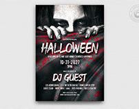Halloween Flyer Template V5