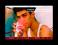 Cookbook Website