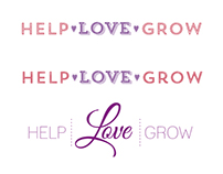 Help | Love | Grow Logo