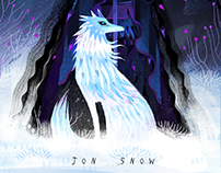 Jon Snow Game of thrones Character Design Challenge!