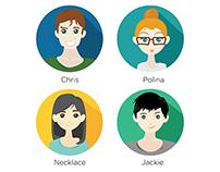 Illustration for Teammates
