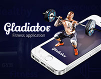 Gladiator fitness application