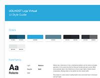 UolHost Loja Virtual - UI Style Guide