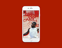 Instagram Stories for Under Armour Basketball