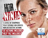HDR Ninja - 50 Premium Photoshop Actions