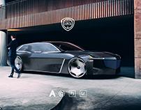 Lancia Pantheon - CGI