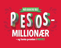 Lottery Typography
