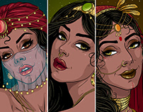 Faces of thousand nights