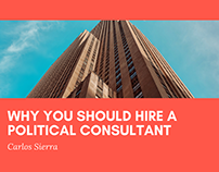 Why You Should Hire a Political Consultant