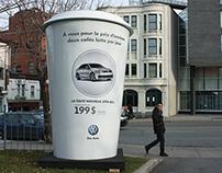 Lattés géants Volkswagen Jetta 2011