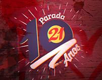 Vinheta Parada 21 - 10 anos