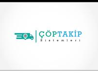 Çöp Takip Sistemleri Logo Design