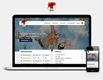 Honvéd Waterpolo Team website redesign concept