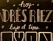 CreativeMornings/Buenos Aires - Chalk Lettering
