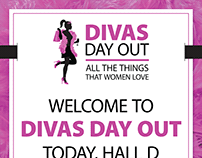 Divas Silicon Valley Event Branding and Logo