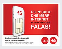 IPKO 4G Campaign