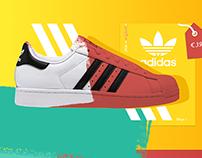 Adidas Concept Web Design