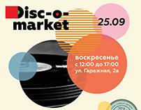 Disc-o-market poster
