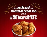 KFC - 50 Years of KFC